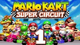 Let's Play MARIO KART SUPER CIRCUIT Part 1: Das erste Handheld Mario Kart!