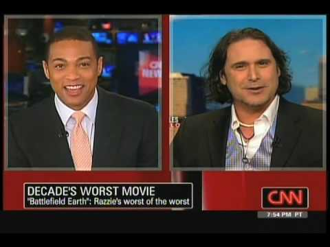 CNN on Battlefield Earth with J.D. Shapiro (screenwriter)