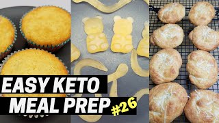 Easy Keto Meal Prep💛Episode 26 GUMMIES!