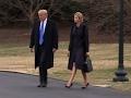 Trump leaves D.C. to honor fallen U.S. Navy Seal