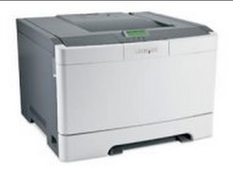 Installing the Lexmark C540 C543 C544 fuser maintenance kit and rollers.