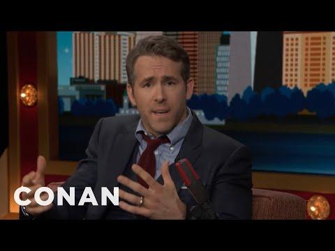 Ryan Reynolds: Canadian Halloween Is F***ng Dangerous  - CONAN on TBS