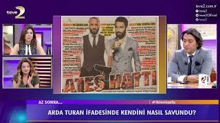 2. Sayfa: Arda Turan emniyette verdiği ifadesinde neler söyledi?