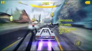 Asphalt 8 | Flat spin 4 times (or more) in one jump (ss3, Aps rev, classic, Countach)