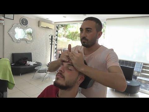 ASMR Turkish Barber Face,Head and Body Massage 145 👍💆♂️💈