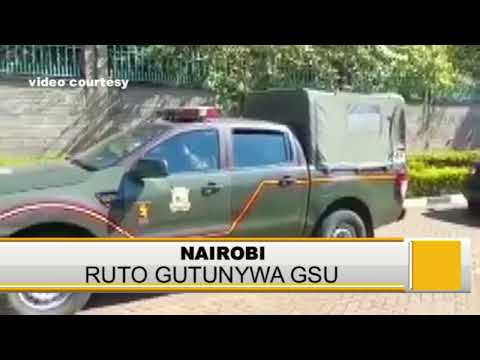 STATE WITHDRAWS GSU OFFICERS MANNING DEPUTY PRESIDENT OFFICIAL RESIDENCE IN KAREN