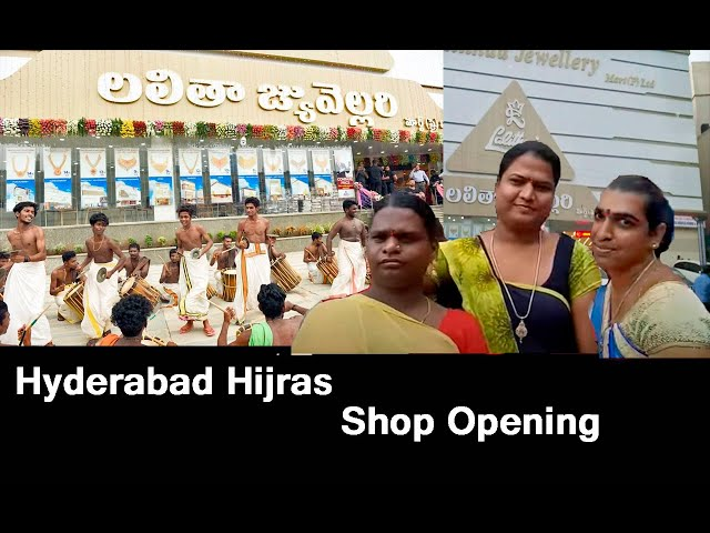 Hyderabad hijras shop opening lalita jewellery