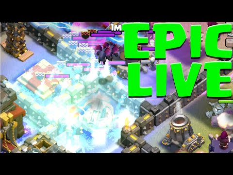 Clash Of Clans EPIC WAR  FAIL LIVE| Buying LVL 9 Walls In Clash Of Clans