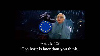 Artikel 13 - Wollt ihr die totale Zensur?!