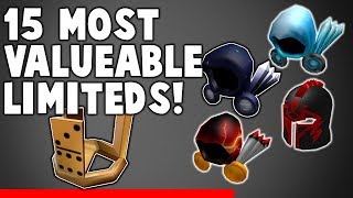 Most Expensive and Valuable Roblox Limiteds!