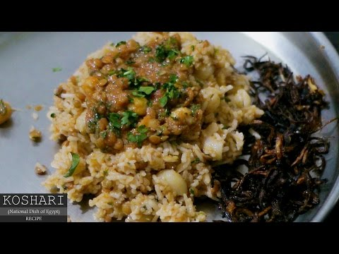 Koshari (National Dish of Egypt) Recipe