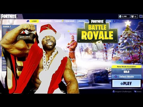 NEW CHRISTMAS UPDATE 🎄: Fortnite Battle Royale (SOLO/DUOS/SQUAD/50V50)