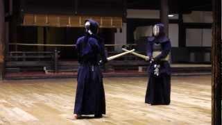 Kyoto Butokuden - Jigeiko Ishikawa-Sensei, Kyoshi 8th Dan (Kendo)