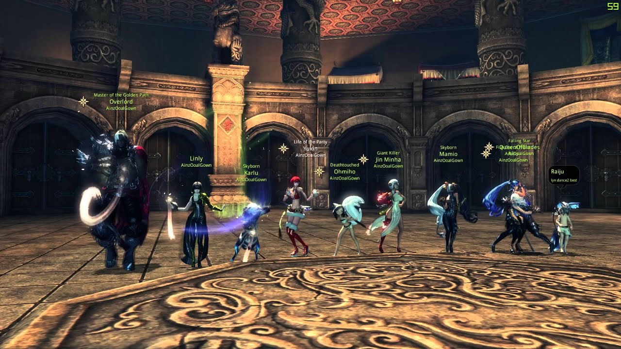 Ainz Ooal Gown Blade And Soul Clan Upgrade Celebration