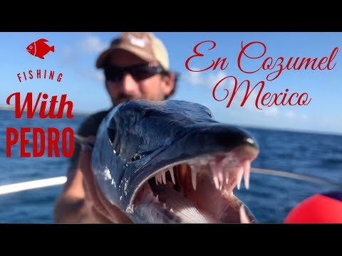 Fishing With Pedro In Cozumel Mexico
