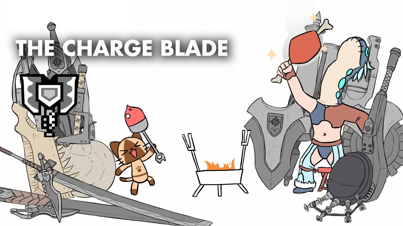A Crap Guide to Monster Hunter World - Charge Blade