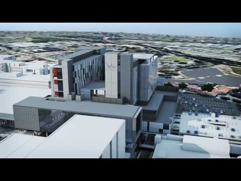 Multiplex Constructions animation of new hospital building
