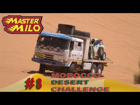 Morocco Desert Challenge day #8 - Sweeper