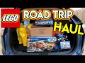 EPIC LEGO ROAD TRIP!  HUGE HAUL & GREAT DEALS!