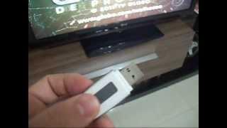 Pen drive na tv-Como utilizar pendrive em uma tv LCD com entrada USB