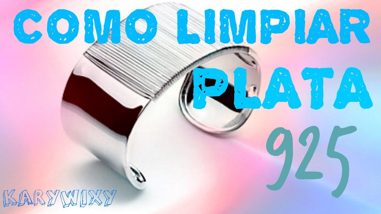 50e27080ca97 COMO LIMPIAR JOYERIA DE PLATA (925) - YouTube