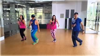 """ZUMBA """"La Fantastica"""" Carlos Vives BY Honduras Dance Crew"""