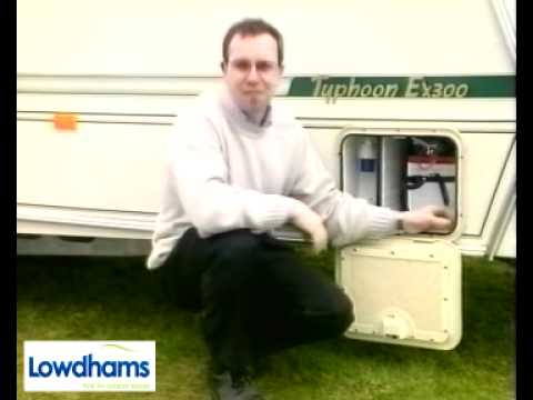 How to set up your caravan on site