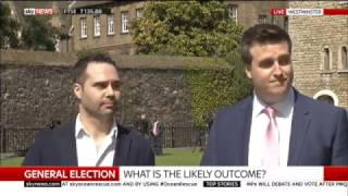 Aaron Bastani on #Election2017 Sky News