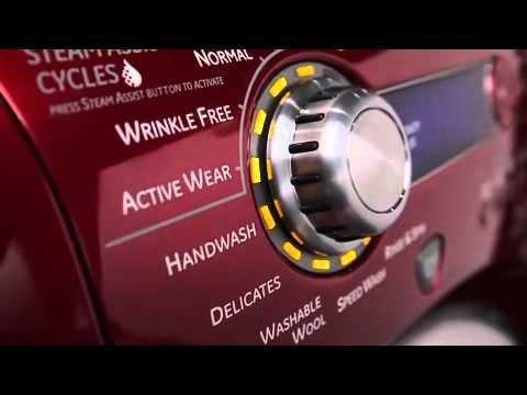 Ge Profile Front Load Washer And Dryer Appliances Video