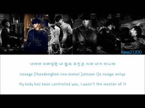 VIXX - Secret Night [Hangul/Romanization/English] Color & Picture Coded HD