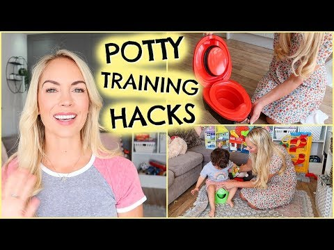 POTTY TRAINING HACKS     HOW TO POTTY TRAIN FAST - IN 4 DAYS     EMILY NORRIS