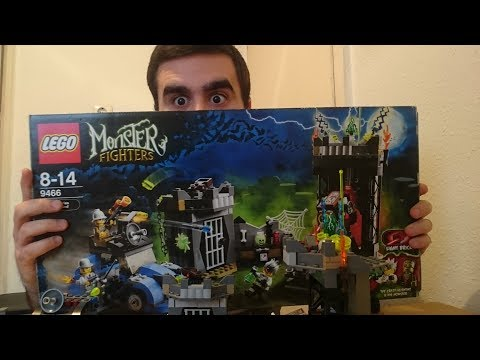 Heti videó: 09# Lego Monster Fighters 9466 - Crazy Scientist & His Monster