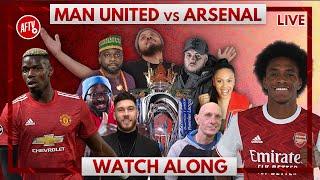 Man United vs Arsenal | Watch Along Live