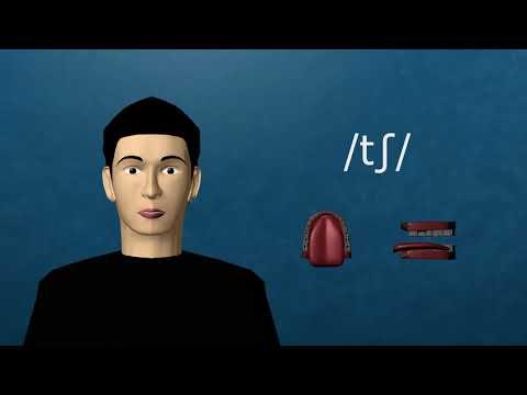 3D Animation of English Articulatory Phonetics