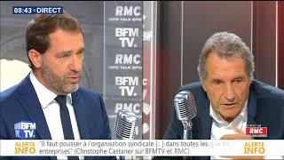 BOURDIN DIRECT du 31/08/2017 Christophe CASTANER
