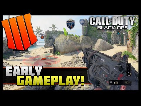 Black Ops 4 Initial Impression | ICR-7 & MX9 Contraband Gameplay