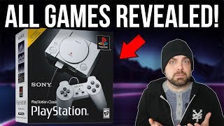 Playstation Classic Games REVEALED and BIG Ones are MISSING! | RGT 85