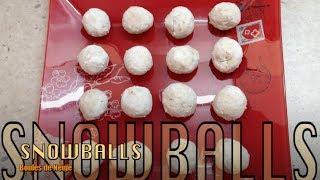Snowballs Gluten Free 4 Ingredient Thermochef Tutorial Cheekyricho