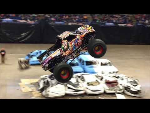 Monster Truck Nationals, 2018, Bryce Jordan Center, State College PA, 4/28/18 (FULL SHOW)