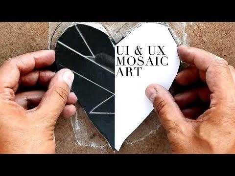 Designing Mosaic Art - UI UX - Mosaic art for beginners