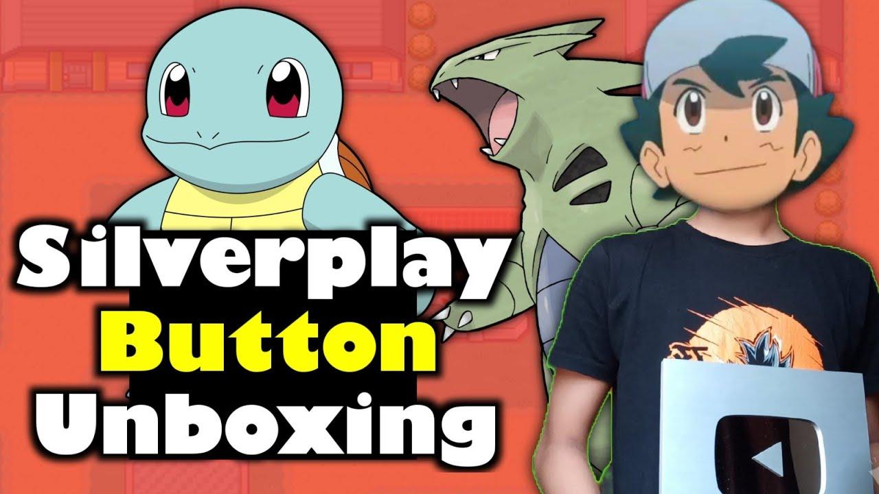 Unboxing Silver play button | YouTube creator award | Pokemon guruji silver play button