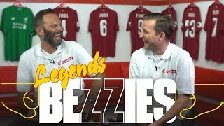 BEZZIES LEGENDS SPECIAL with Patrik Berger and Vladimir Smicer | 'He loves to moonwalk'