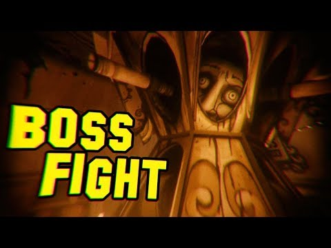 BOSS FIGHT Bertrum Piedmont | Bendy and the Ink Machine Chapter 4