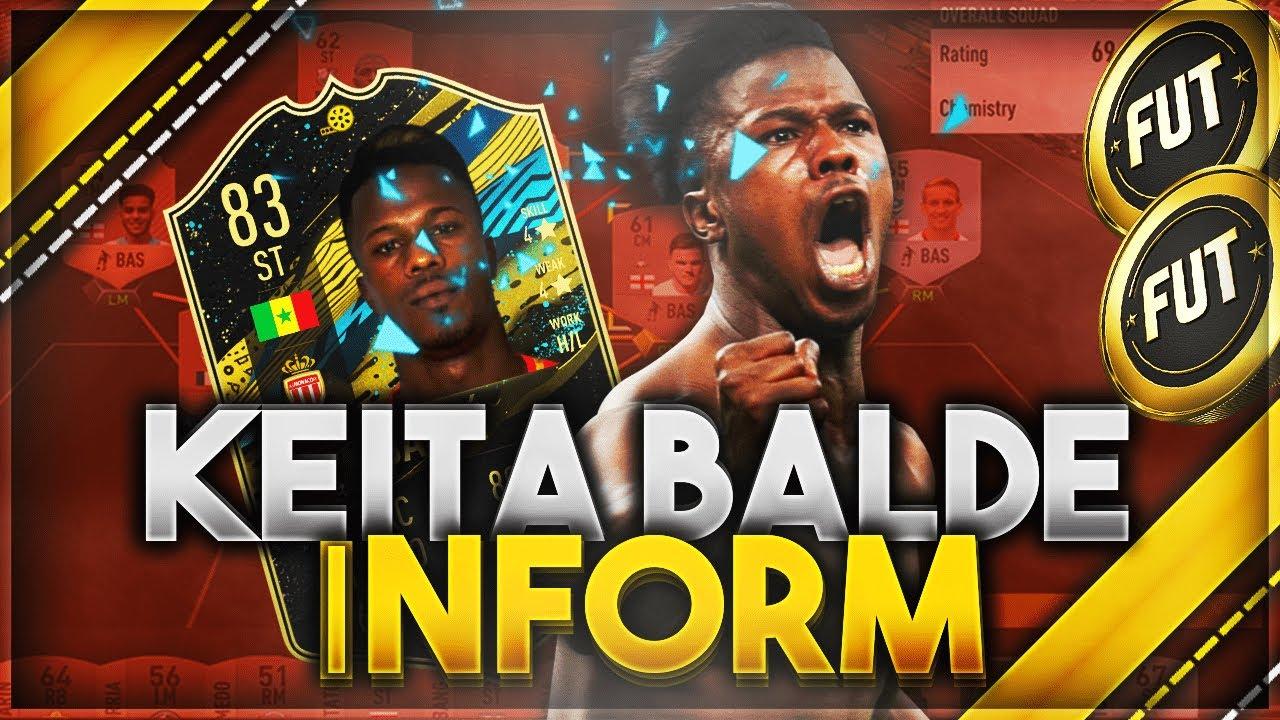 FIFA 20: KEITA BALDE DIAO 83 IF PLAYER REVIEW I - CHEAP BEAST?- FIFA 20  ULTIMATE TEAM - YouTube