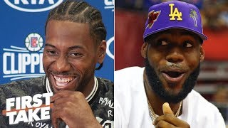 Kawhi vs. LeBron: Who is the best player in the NBA? | First Take
