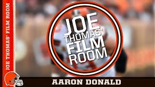 Joe Thomas' Film Room: Aaron Donald | Cleveland Browns