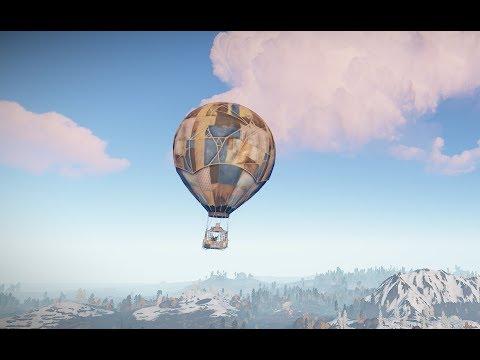 Rust - Лучший пилот воздушного шара!