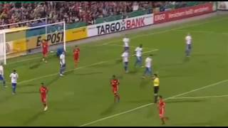 Video Gol Pertandingan Carl Zeiss Jena vs FC Bayern Munchen