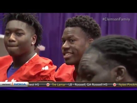 Clemson Football || 2016 Signing Day Show