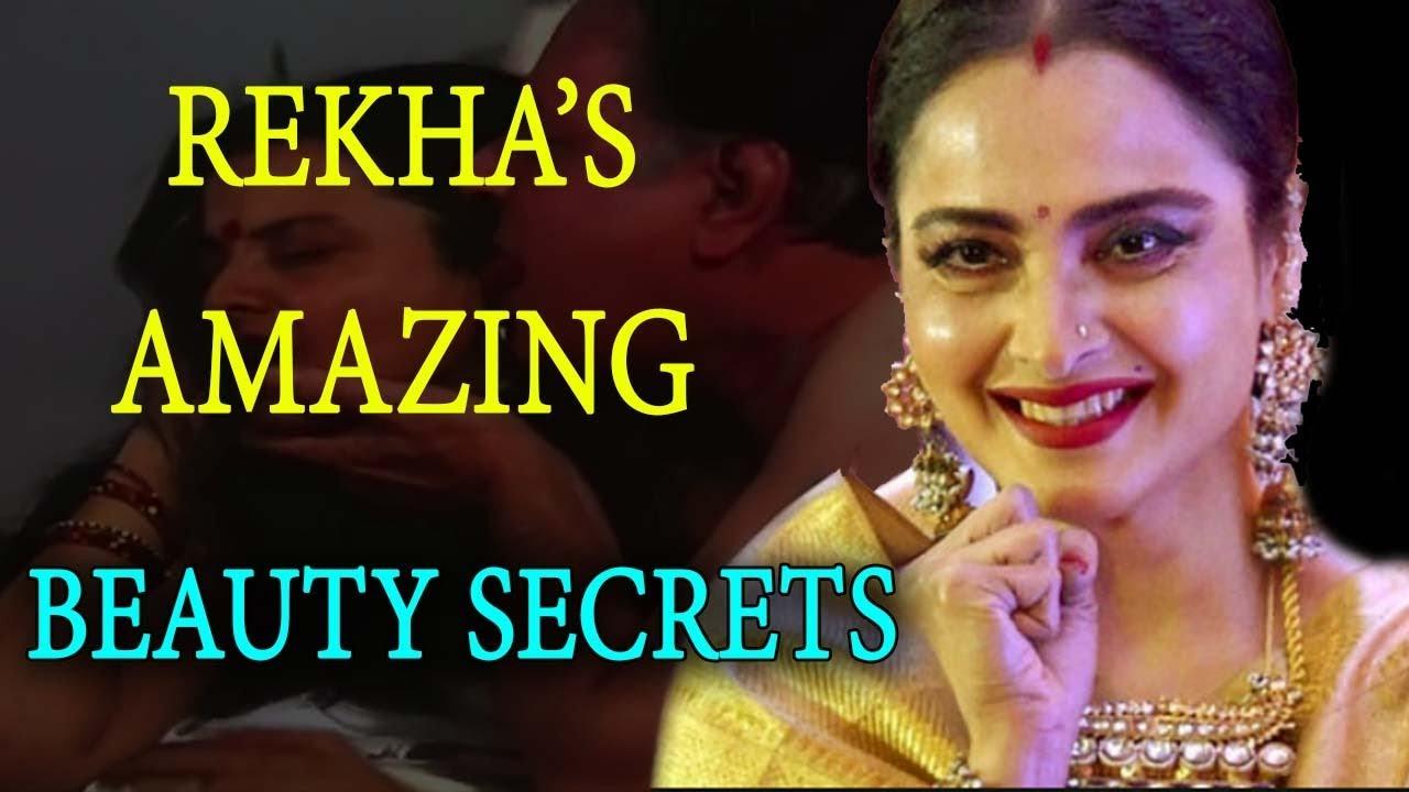Rekha's Beauty, Makeup And Fitness Secrets Revealed
